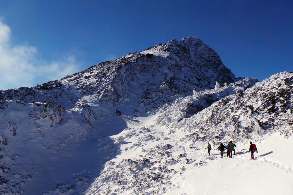 Raduha - pogled na vrh