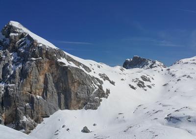 Begunjski vrh in Staničev dom