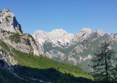 Pogled na Tursko goro, Rinke in Mrzlo goro