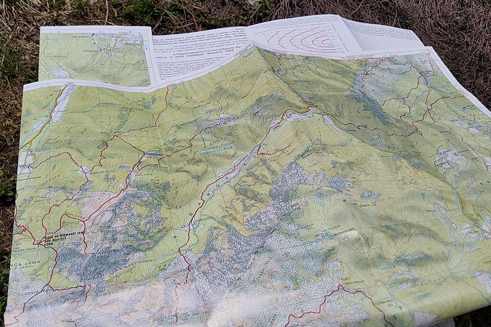 Brezpotje - zemljevid obvezen!