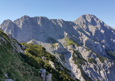 Kalška gora in Kalški greben