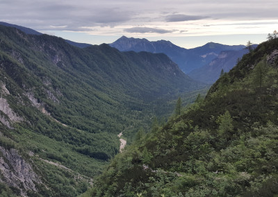 Spodnja 2296m in Visoka Vrbanova špica 2405m