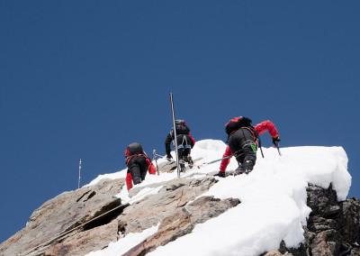 Pod vrhom Kleinglocknerja 3783m