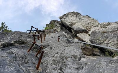 Priporočila za varnost na zelo zahtevnih planinskih poteh