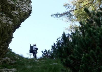 Sedelce iz katerega greva na greben