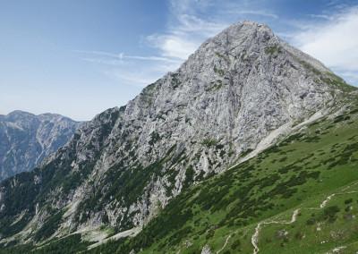 Brana in na levi najin greben