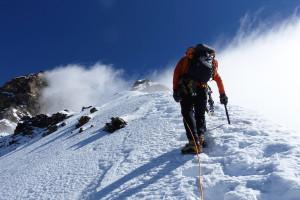 Matterhorn - na greben