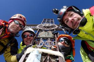 Matterhorn - skupinska na vrhu