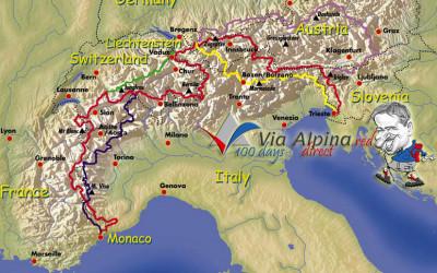 Via Alpina – Igor Gruber – 2640 km – 104 dni
