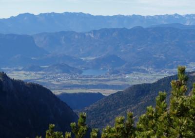 Pogled na.. za ene Bohinjsko, za druge Vrbsko a v resnici na Blejsko jezero