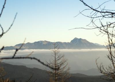 Pogled na Karavanke