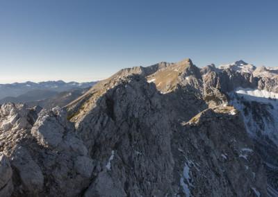 Greben do Velikega Draškega vrha