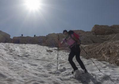 Maja si je zaželela malo slaloma