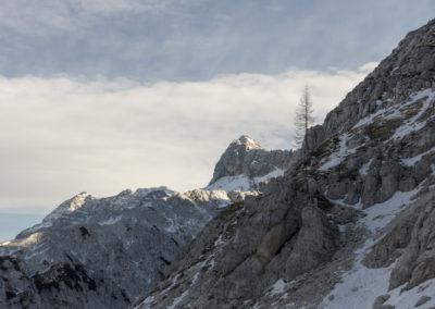 Pogled na M. Golovec 2285m