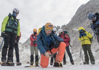 Tečaj varnega gibanja po gorah v zimskih razmerah – januar 2017