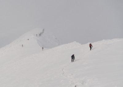 Bolj gremo proti vrhu, bolj je megleno