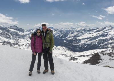 Anja in Martin, prvič na 4000+