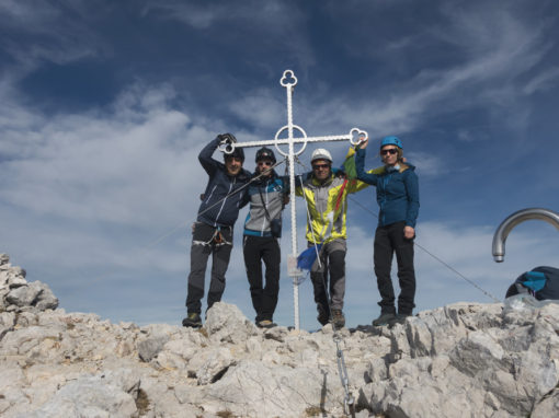Brana čez vzhodni greben Kaptana | 2253m