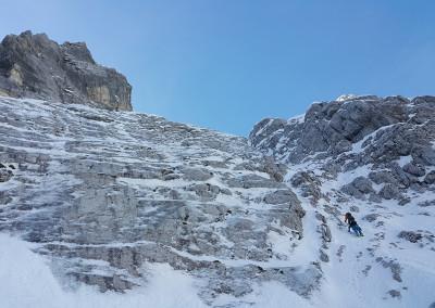 Slovenska smer v Triglavski severni Steni