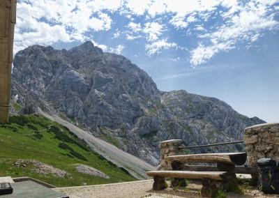 Vzhodni greben Kaptana in vzpon na Brano
