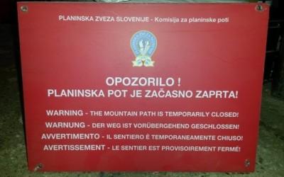 Zaprta pot od Kredarice do Triglava / 28.7.2016
