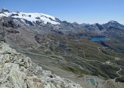 Pogled proti malemu Matterhornu