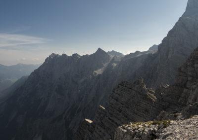 Pogled proti Begunjskemu vrhu