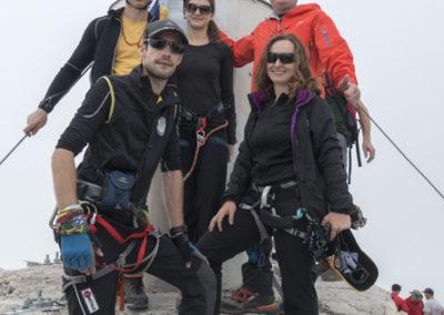 Z Marjano sva jim uresničila željo in jih pripeljala na vrh Slovenije :)