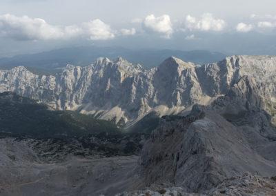 Greben Mali - Veliki Draški Vrh in Tosc
