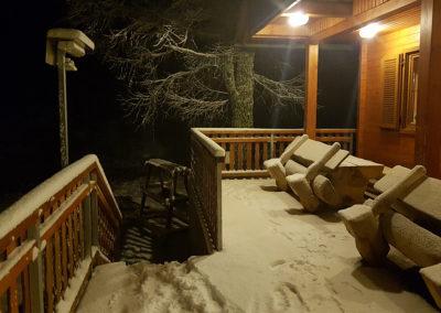 Nekaj snega je zapadlo