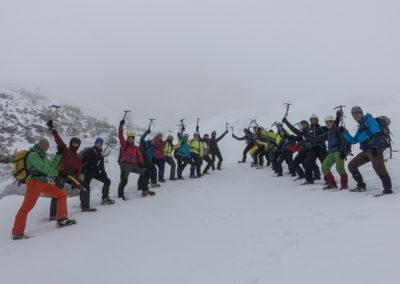 Tečaj varnega gibanja po gorah v zimskih razmerah – februar 2017