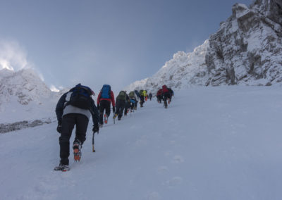 Po Šentancu proti vrhu