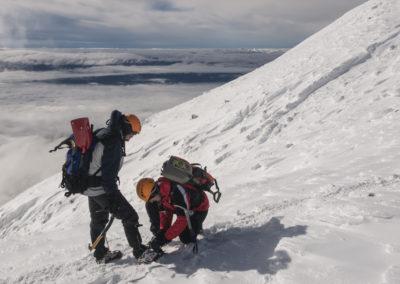 Kolegialnost je v gorah pomembna!