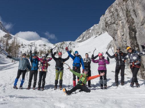 Tečaj varnega gibanja po gorah v zimskih razmerah – marec 2017