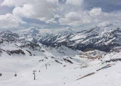 Pogled proti dolini D'Aosta
