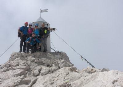 To smo mi, na vrhu Slovenije :)